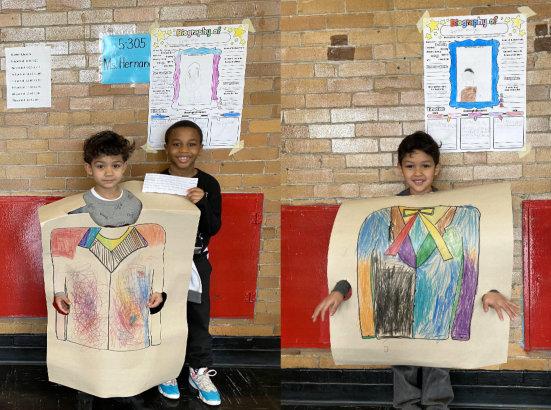 kids wearing costume