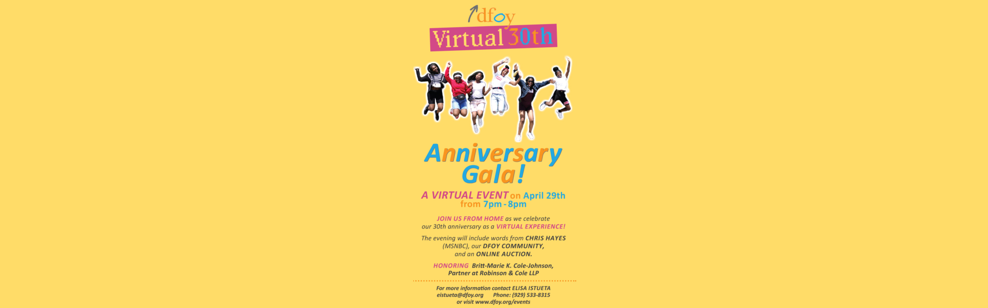 Virtual Anniversary Gala